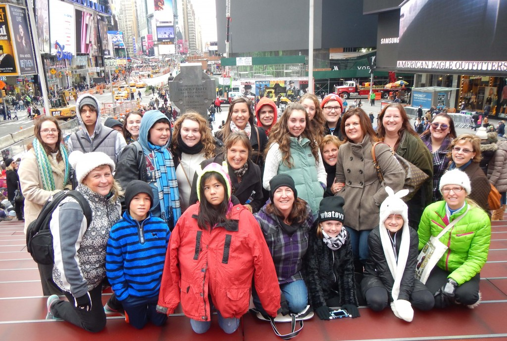 2014 New York City Trip:  A Huge Success!