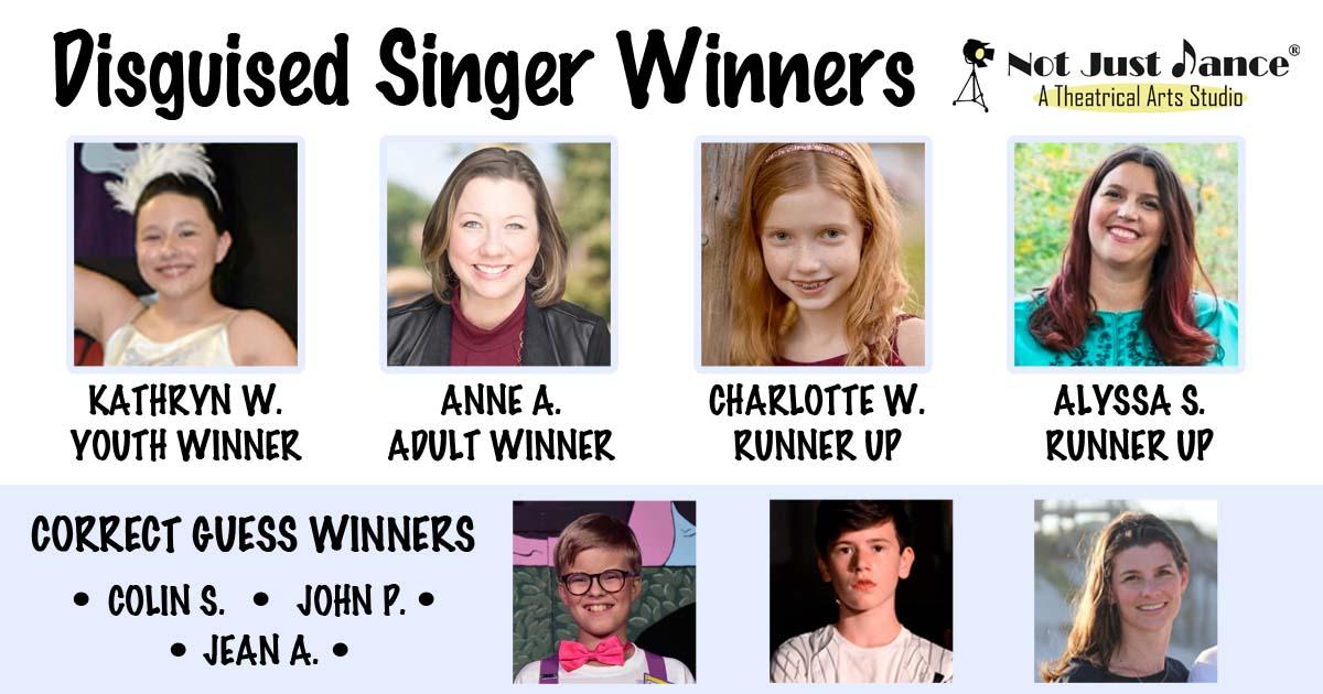 Disguised Singer Winners
