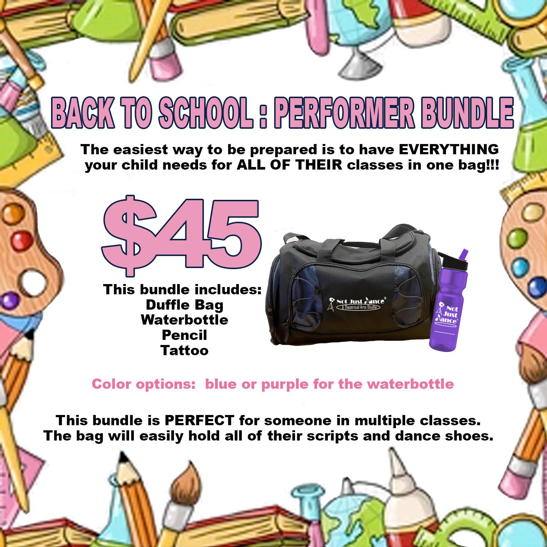 back to school bundle performer